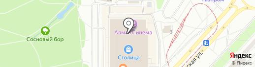 Муравейник на карте Ижевска