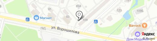 Окна люкс на карте Ижевска