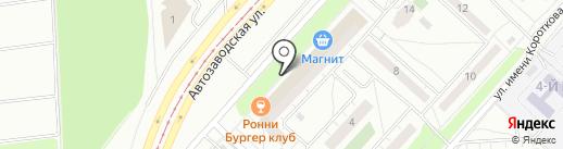 Клиника доктора Симанова на карте Ижевска