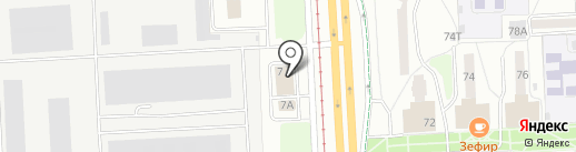 ARS-AVTO на карте Ижевска