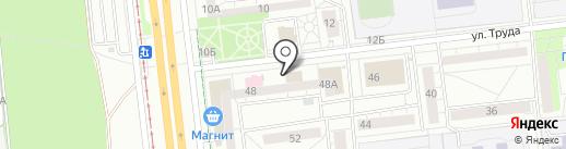 Миг на карте Ижевска