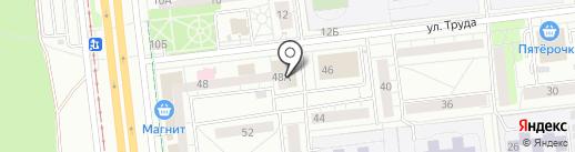 Клиническая больница восстановительной медицины ИГМА на карте Ижевска