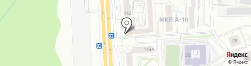 АННА на карте Ижевска