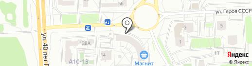 Банкомат, АКБ Ижкомбанк, ПАО на карте Ижевска