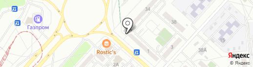 По-пути на карте Ижевска
