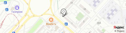 Ижфинансгрупп на карте Ижевска