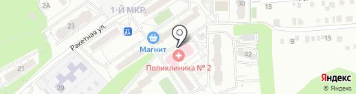 Детская городская клиническая поликлиника №5 на карте Ижевска