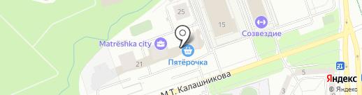 УралДомСтрой на карте Ижевска