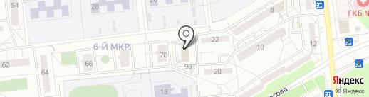 Управление гражданской защиты на карте Ижевска