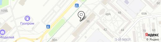 Гудвик на карте Ижевска