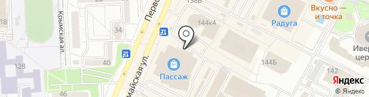 Семицветик на карте Ижевска