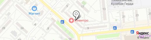 НАРОДНЫЙ ЛОМБАРД на карте Ижевска