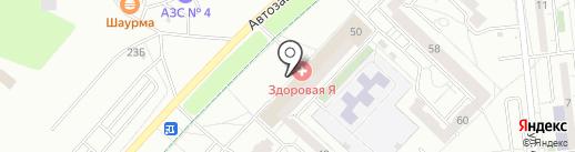 Розрин, ЗАО на карте Ижевска
