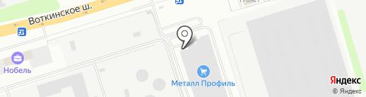 СтройРесурс на карте Ижевска
