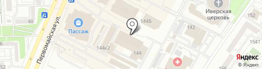 Азия на карте Ижевска