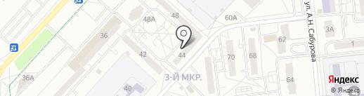 Кефир на карте Ижевска