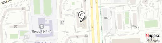 Фабрика Мирлачева на карте Ижевска