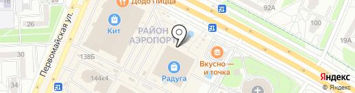 Inформат на карте Ижевска