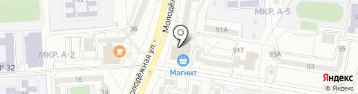 Глазовский на карте Ижевска