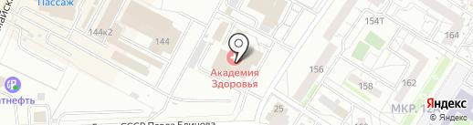 Минимум на карте Ижевска