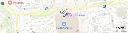 Танцующие на карте Ижевска