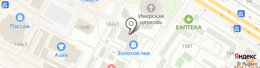 Новоинтерьер на карте Ижевска