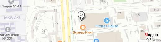 Дженти на карте Ижевска