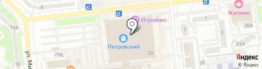 Palmetta на карте Ижевска