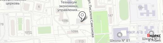 EVA на карте Ижевска
