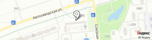 Сабурова, 19, ТСЖ на карте Ижевска