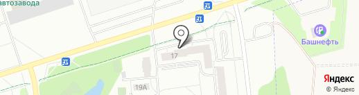 ТСЖ №17 на карте Ижевска