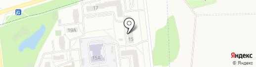 Восток, ЖСК на карте Ижевска