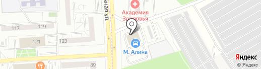 МАЛИНА на карте Первомайского
