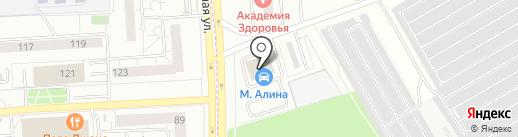 АвтоТема на карте Первомайского
