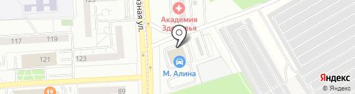ДРАЙВ на карте Первомайского