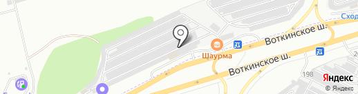 Агро-Логистика на карте Ижевска