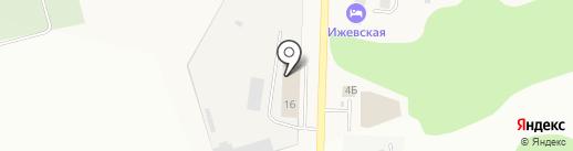 Ремонтная-строительная компания-18 на карте Хохряков