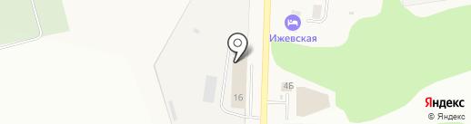 Экоблок на карте Хохряков