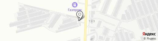 Автодруг на карте Хохряков