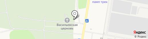 Хохряковское кладбище на карте Хохряков