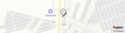 Магазин автозапчастей для Камаз на карте Ижевска