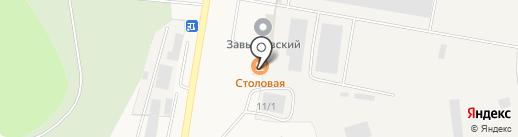 Завьяловский тепличный комбинат на карте Хохряков