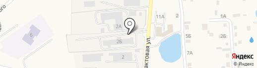 Магазин товаров для бани на карте Хохряков