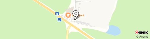 Втормет на карте Хохряков