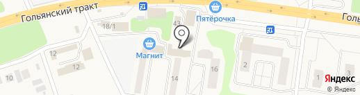 Хускварна на карте Октябрьского