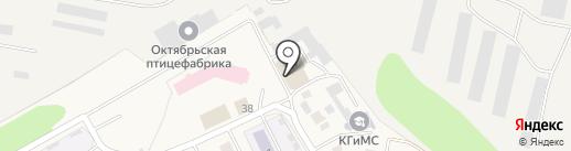 Крепкий орешек на карте Октябрьского