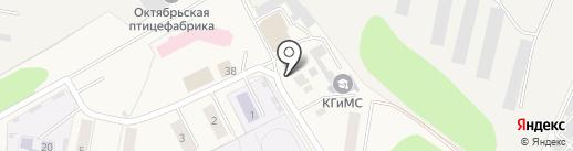 Бумер на карте Октябрьского