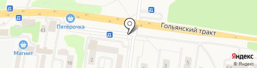 Серебряные ключи на карте Октябрьского