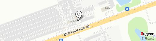 40 Колес на карте Ижевска