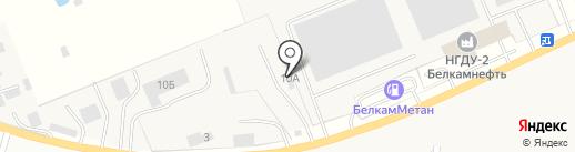 Хохряки-Бетон на карте Хохряков